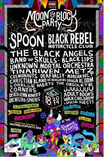 Spoon added as a headliner for Moon Block Party festival