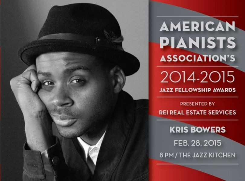 Kris Bowers among Finalists competing for 2015 Cole Porter Fellowship in Jazz