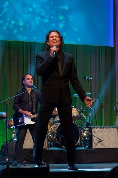 Carlos Vives triple task: Legend Award recipient, performer and USAID ambassador