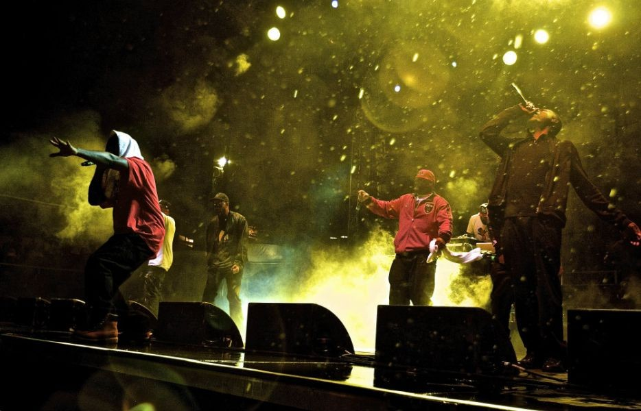Wu Tang Clan closes Denver Riot Fest with soggy set