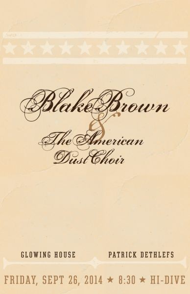 Blake Brown and the American Dust Choir produce musical magic with 'Three'