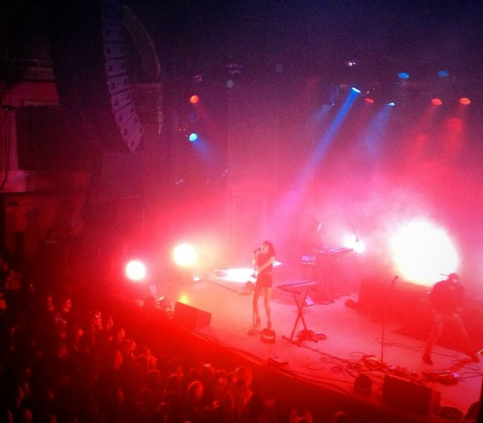 Phantogram dazzles Denver crowd with tight, dialed-in performance