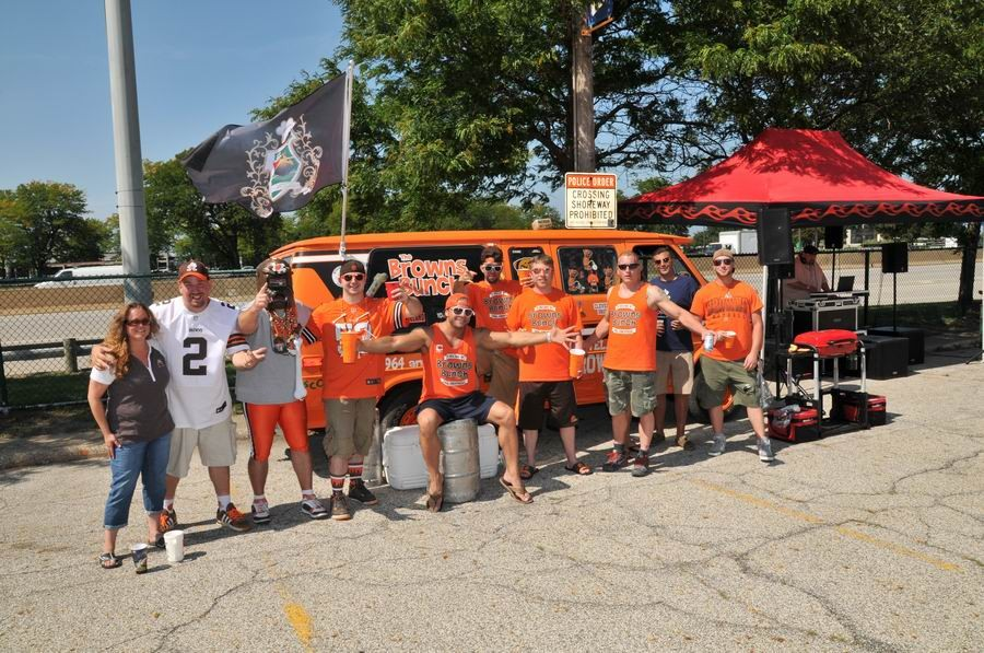 Cleveland's getting revved up to fever pitch for the Sunday opener