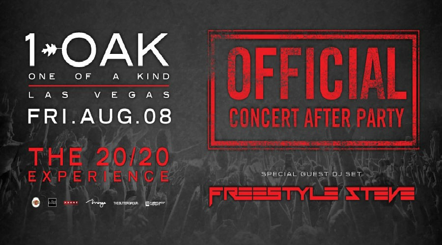 Vegas Weekend Hot Spot: 20/20 Experience Concert After Party at 1 OAK Nightclub