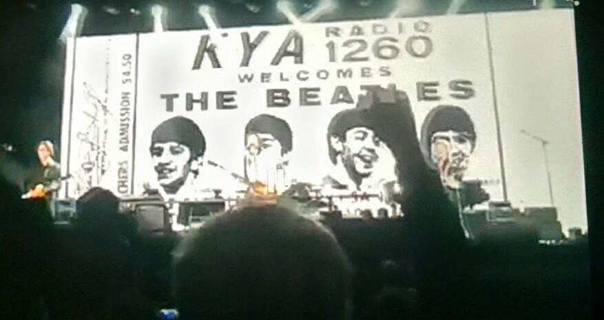 DJ thrilled McCartney Candlestick show showed station's Beatles concert ticket