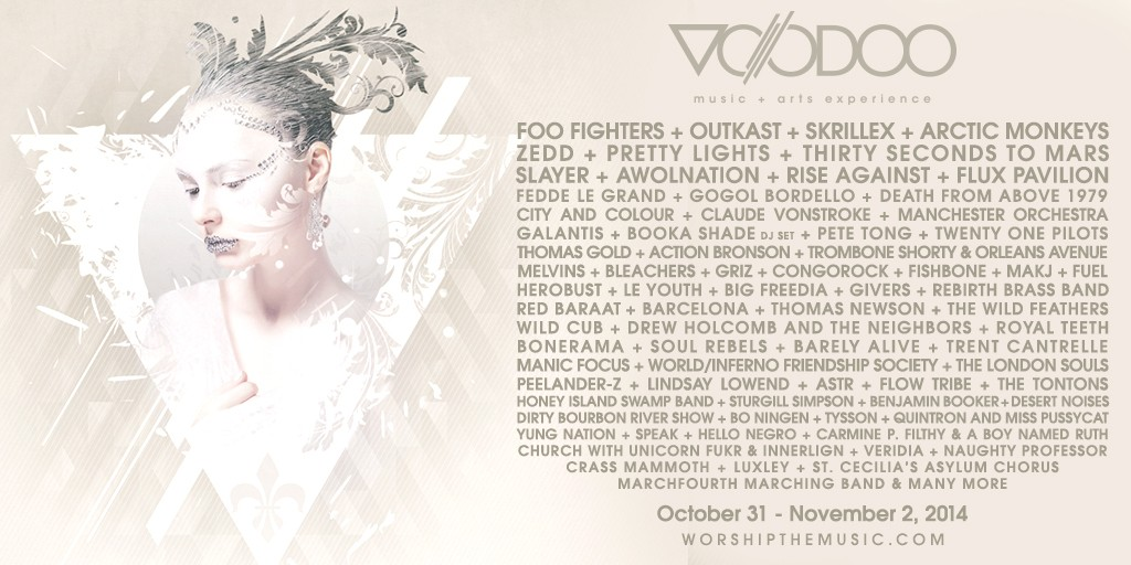 Voodoo Fest 2014 to feature huge line-up, including indie-pop band Royal Teeth