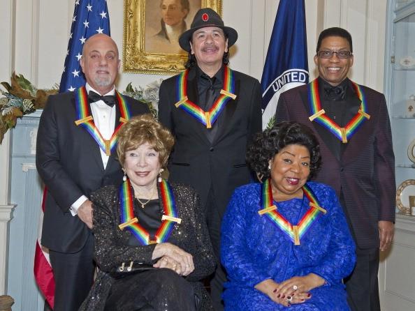 Joel, Santana among five receiving Kennedy Center Honors