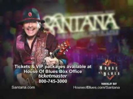 The week ahead: Santana back at the House of Blues in Las Vegas