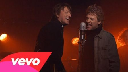 Bon Jovi releases official 'Because We Can' music video