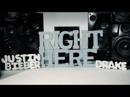 Justin Bieber releases official 'Right Here' lyric video