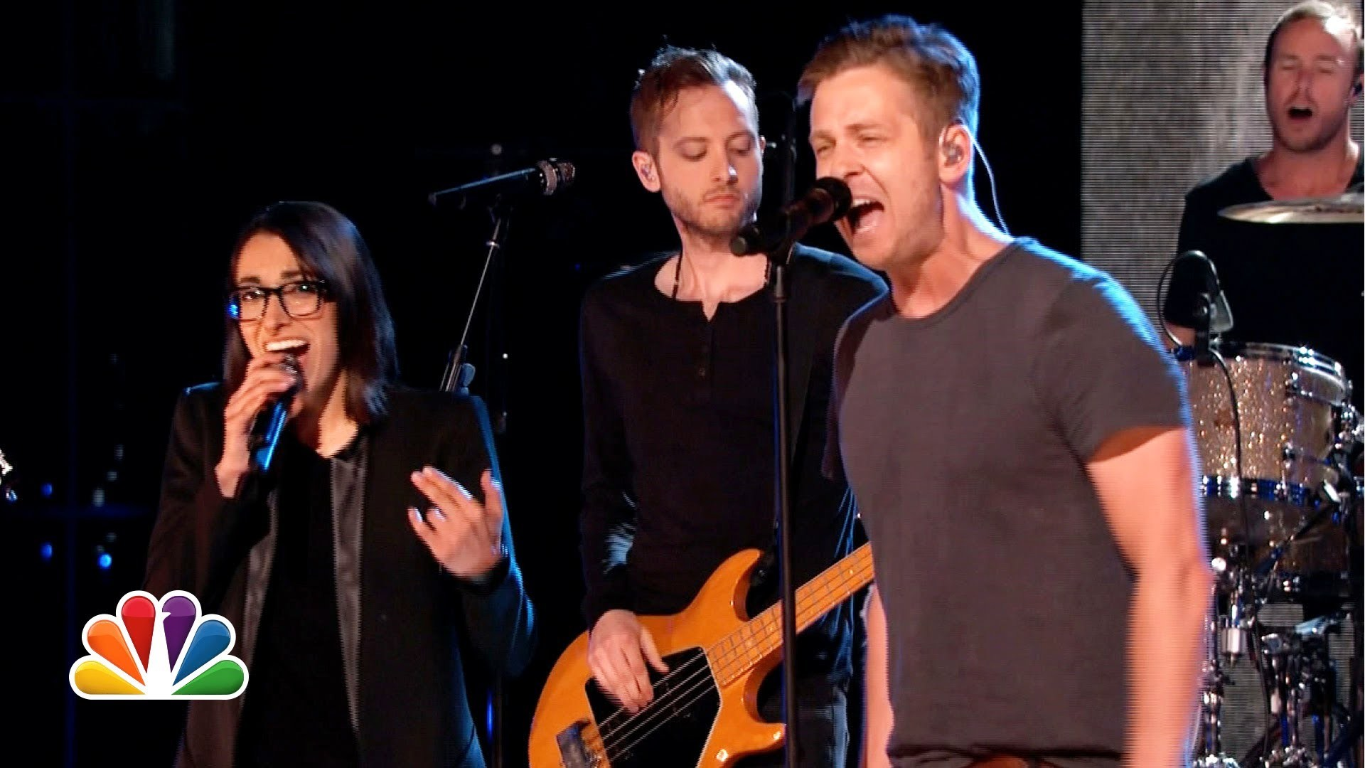 OneRepublic perform \'Counting Stars\' live on \'The Voice\' with ...