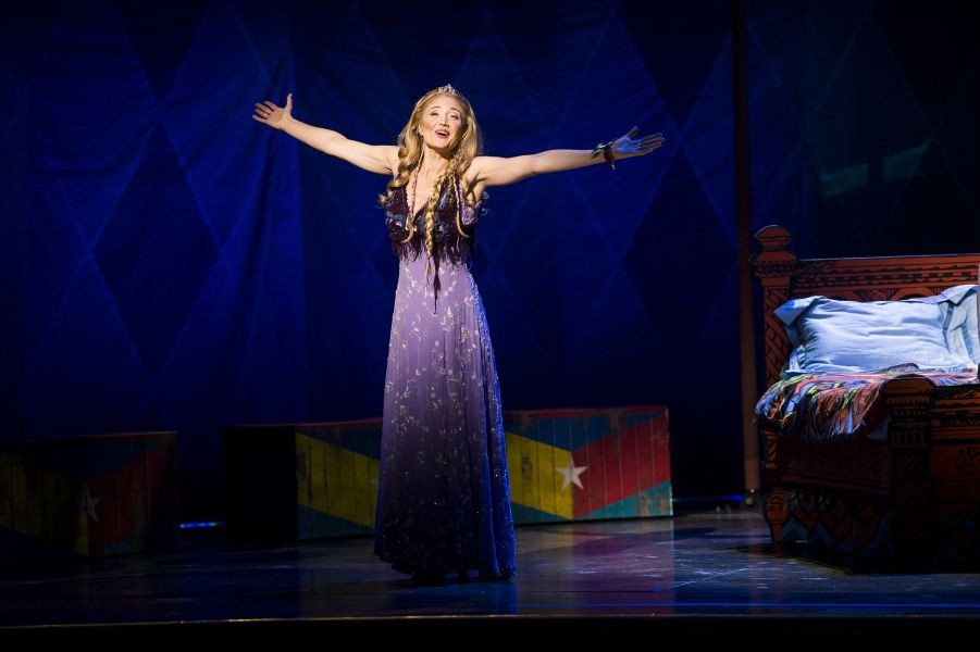"Photos from the National Touring Production of ""Pippin"""