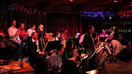 Clare Fischer Big Band 'Pacific Jazz' CD release party at Typhoon, Oct. 20