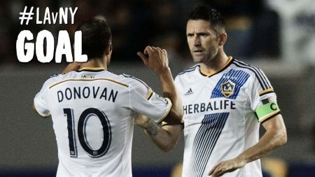 Robbie Keane and Gyasi Zardes of LA Galaxy nominated for MLS Goal of the Week