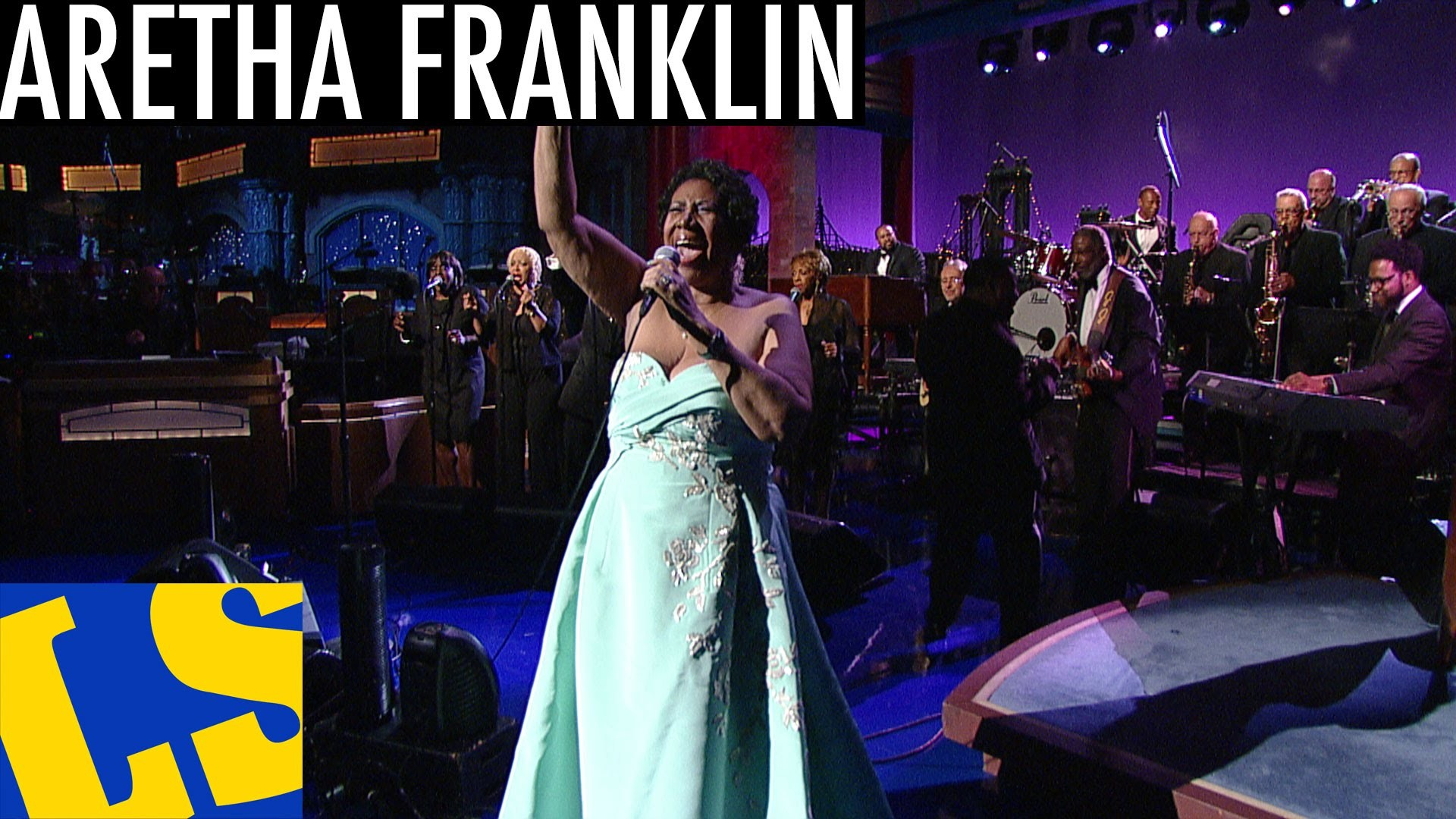 """Detroit's own Aretha Franklin wows crowd with """"Rolling in the Deep"""" on Letterman"""