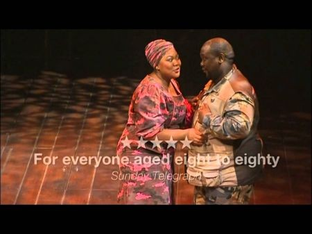 South Africa's Isango Ensemble performs 'The Magic Flute' at the Broad Stage