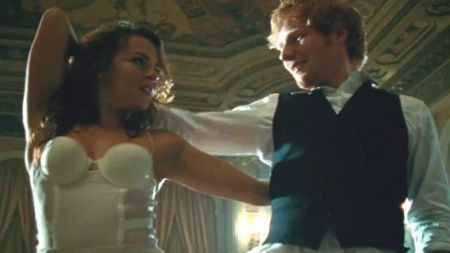 Ed Sheeran shows off dance moves in 'Thinking Out Loud' music video