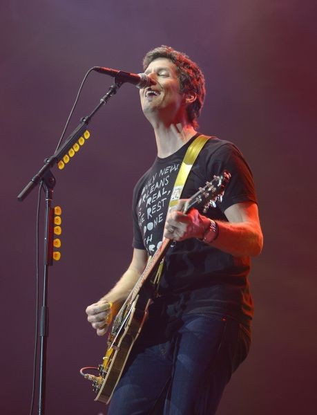 Better than Ezra on stage at Wine Amplified in Las Vegas, Oct. 10, 2014.