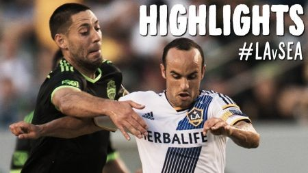 LA Galaxy give up two-goal lead and tie 2-2 with Seattle Sounders