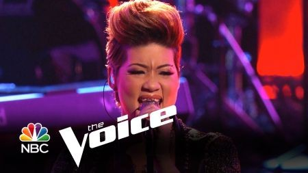 Tessanne Chin: from a legend's backup singer to 'Voice' champion