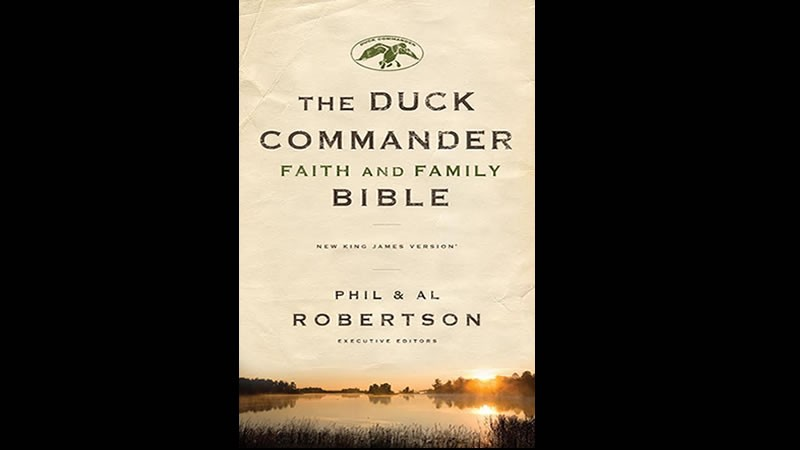 Al Robertson discusses new  faith and family Bible, 'Duck Dynasty'