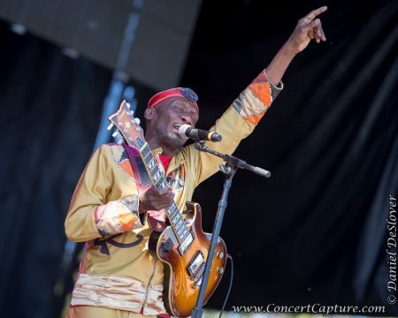 Musician Jimmy Cliff brought a touch of reggae to ACL The Jamaican native has been producing music for decades and definitely brought a tast