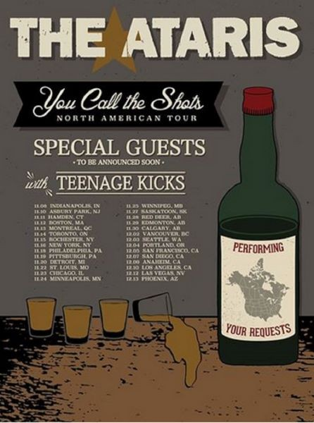 The Ataris are back on tour in November