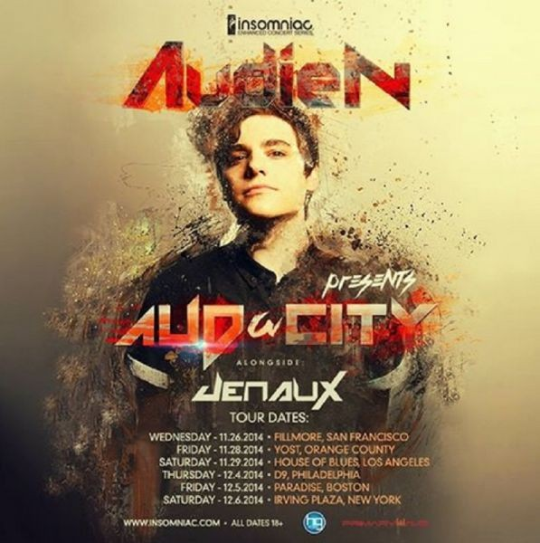 Audien is playing at select US venues this fall