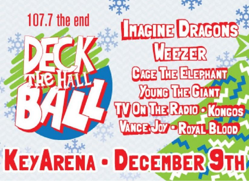 Imagine Dragons and Weezer headline Seattle's annual Deck the Hall Ball
