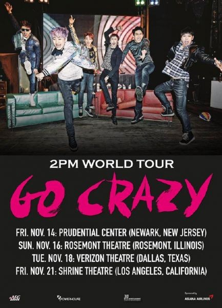 2PM announce fall tour dates