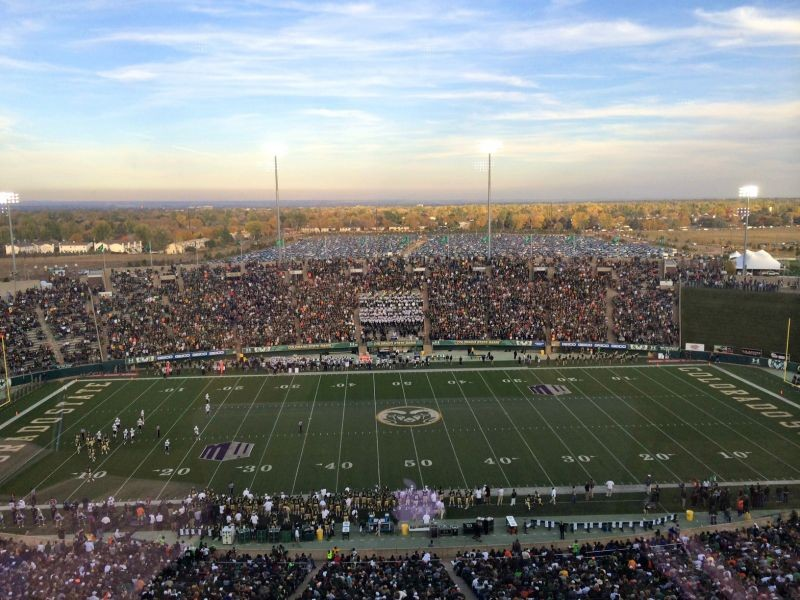 Win and they're in: Colorado State Rams fans selling out Hughes Stadium again