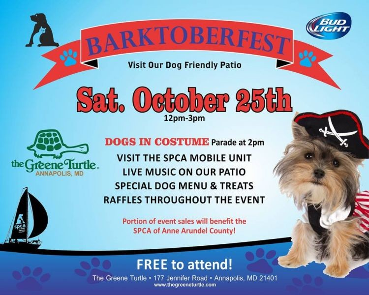 barktoberfest halloween pet party and costume contest
