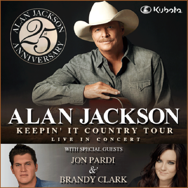 Alan Jackson announces tour dates for 2015