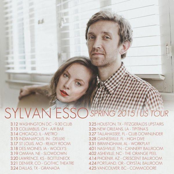 Sylvan Esso announce spring tour dates
