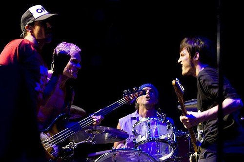Rock Out With The Legendary Red Hot Chili Peppers