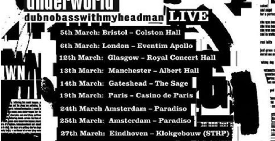 Underworld announce European tour dates