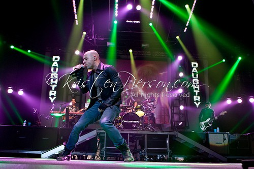 3 Doors Down and Daughtry double-down at Mohegan Sun