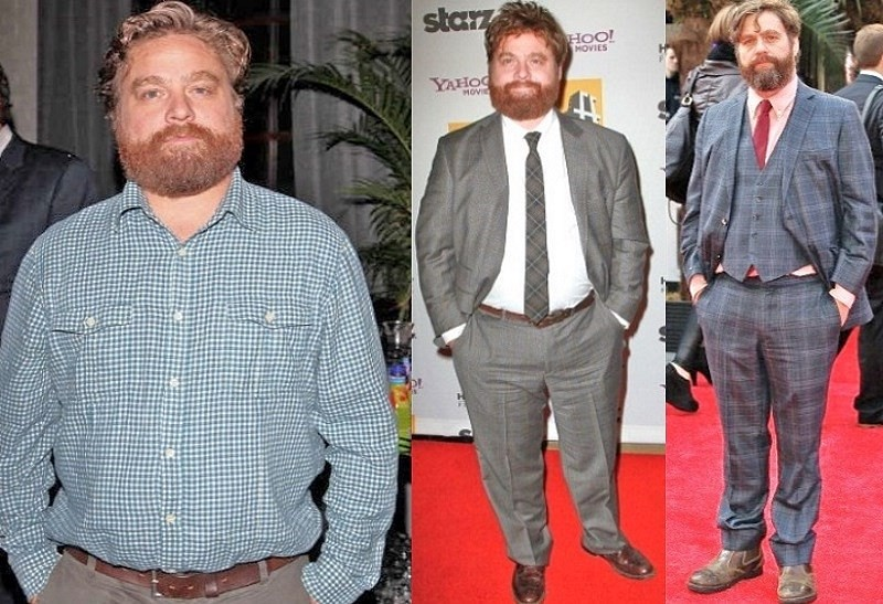 Zach Galifianakis Weight Loss Was Due To Alcohol Free T