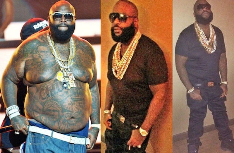 Rick Ross credits CrossFit workouts for 100-pound weight