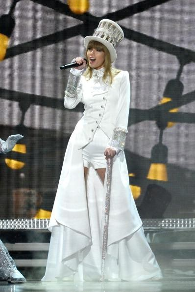 Taylor Swift opens Grammy Awards with Alice In Wonderland themed performance