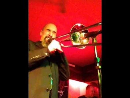 Reggie Watkins slays trombone through Maynard Ferguson, Miles Davis numbers
