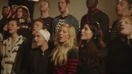 Band Aid 30: One Direction, Sam Smith & more sing 'Do They Know It's Christmas?'