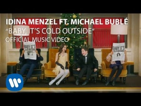 Idina Menzel releases 'Baby, It's Cold Outside' video, featuring Michael Bublé