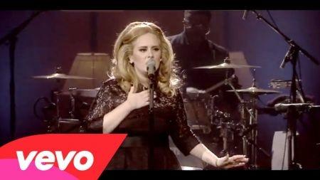 Adele's label boss happy with progress on singer's next album