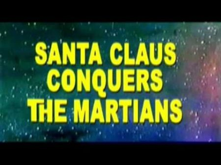 'Santa Claus Conquers the Martians' on the big screen for one night only