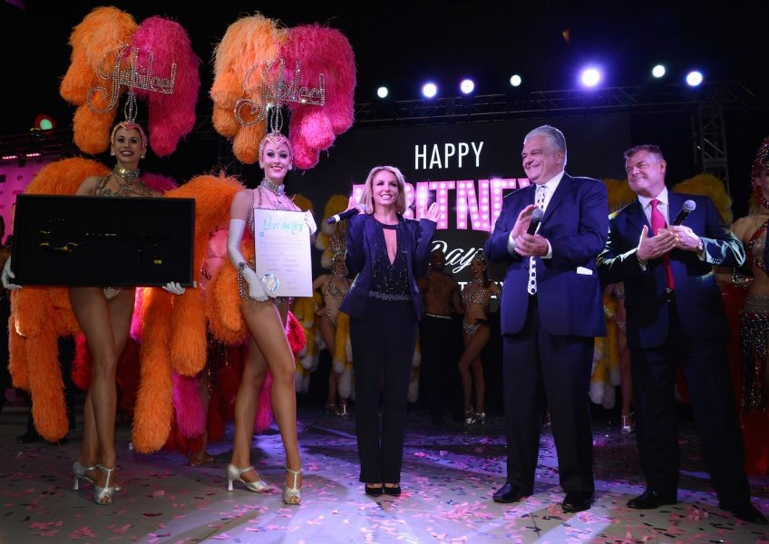 Britney Spears extends her residency at Planet Hollywood Las Vegas