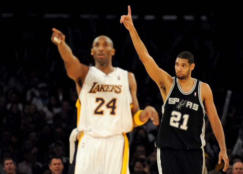 Kobe Bryant would 'love to get another crack' at the Spurs in the playoffs