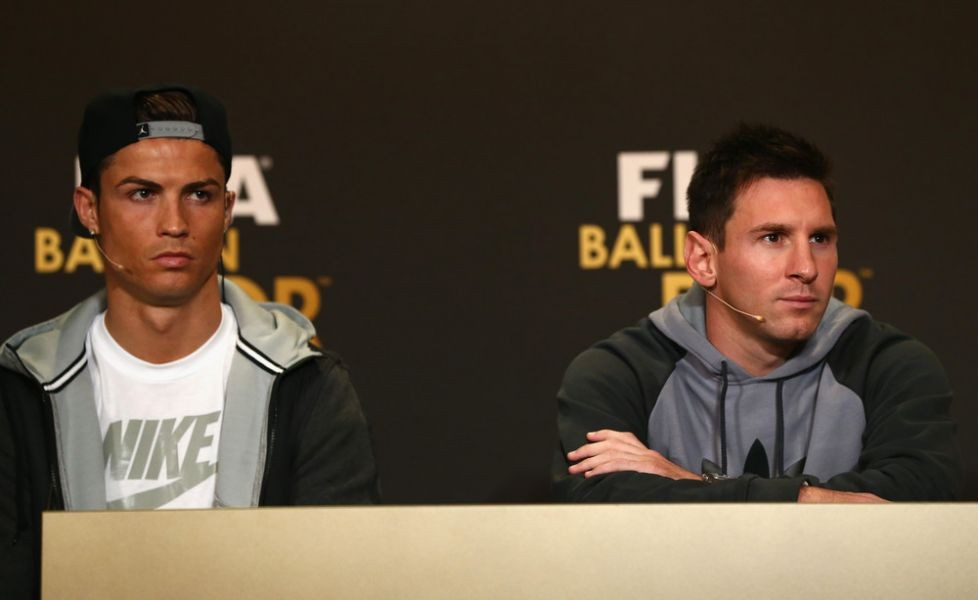 Lionel messi cristiano ronaldo meet at old trafford for lionel messi amp cristiano ronaldo meet at old trafford for international friendly m4hsunfo Choice Image