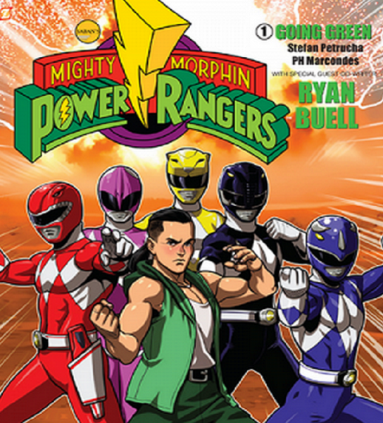 Ryan Buell releases new Mighty Morphin Power Rangers comic book