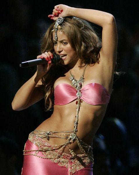 Shakira belly dance greek style dresses